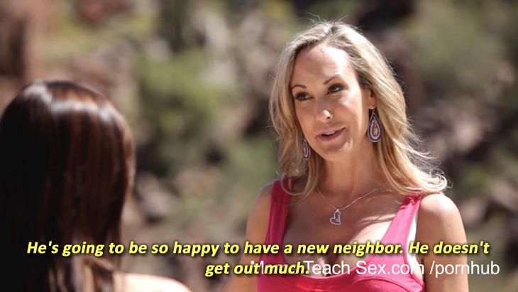 """Brandi Love and Aidra Fox in """"So Much To Teach You"""""""