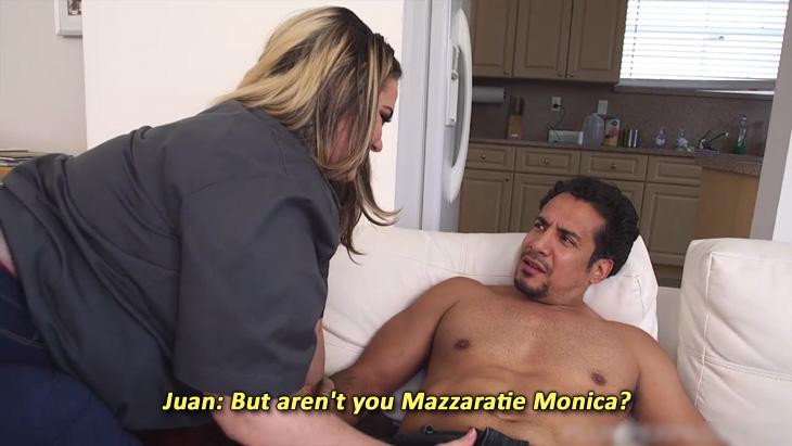 "Mazzaratie Monica's in ""Big Booty Cable Duty"""