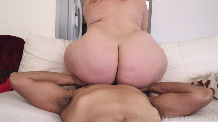 """Mazzaratie Monica face-sitting in """"Big Booty Cable Duty"""""""