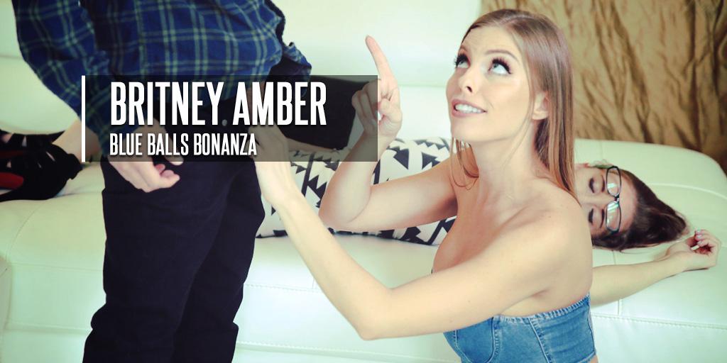 Britney Amber Blue Balls Bonanza