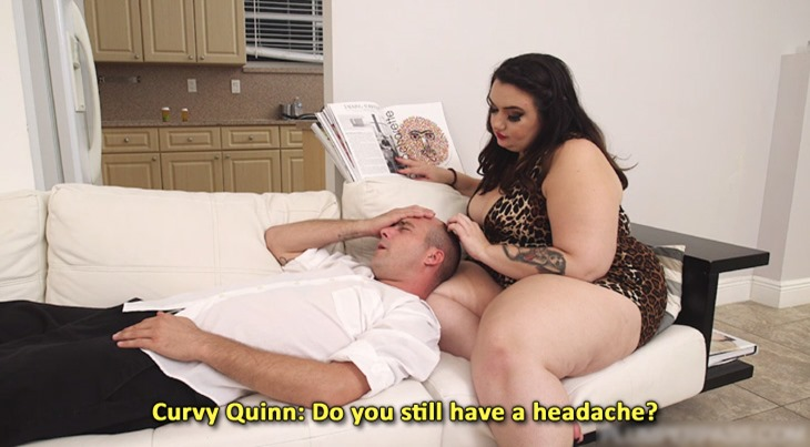"Curvy Quinn in ""Dick Pill"""