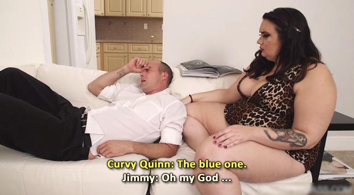 "Curvy Quinn in ""Dick Pill"""