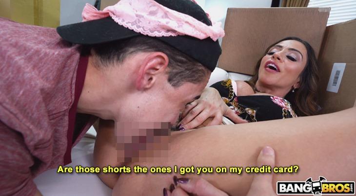 Juan El Caballo Loco eats Ariella Ferrera's pussy