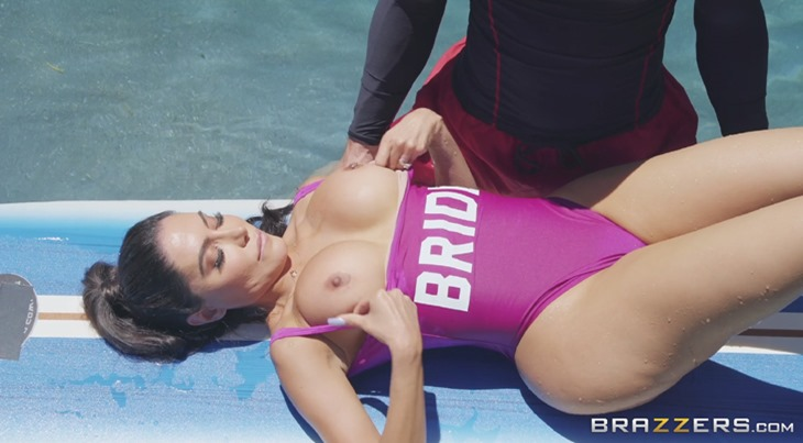 Ride the Wife - Lela Star's big tits